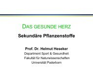 Krebs - Eine ernährungsbedingte Erkrankung? Prof. Dr. Helmut ...