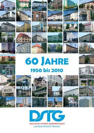 Chronik 60 Jahre - [DSTG] - Landesverband Hessen
