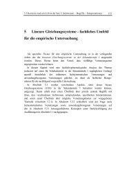 5 Lineare Gleichungssysteme - fachliches Umfeld ... - bei DuEPublico
