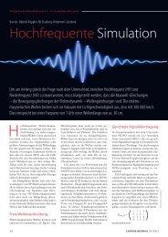 Hochfrequente Simulation - Dynardo GmbH