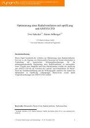 Formatvorlage: Weimarer Optimierungs- und Sto ... - Dynardo GmbH