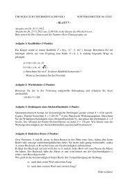 07 - Experimentelle Physik III
