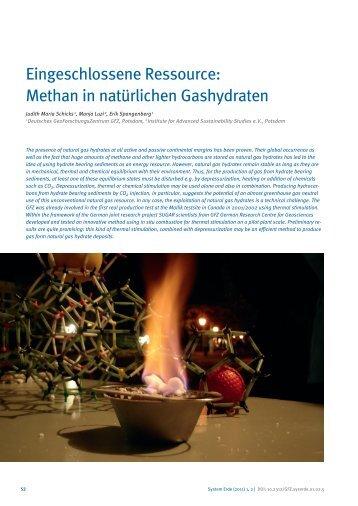 Methan in natürlichen Gashydraten - E-Books Deutsches ...