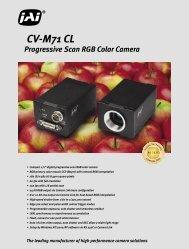 Progressive Scan RGB Color Camera CV-M71 CL - Alacron at www ...