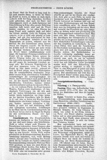 Fesselbeinbruch - Fleischbrühe - TiHo Bibliothek elib