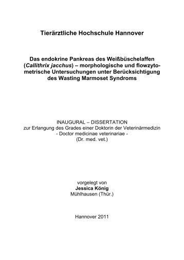 Tierärztliche Hochschule Hannover - TiHo Bibliothek elib ...