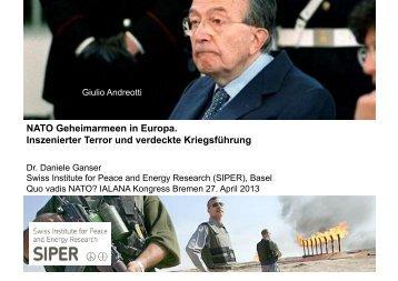 NATO Geheimarmeen in Europa. Inszenierter Terror und ... - EN-PAZ