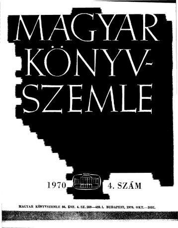 Letöltés egy fájlban [28.4 MB - PDF] - EPA - Országos Széchényi ...