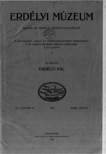 A pragmatica sanctio Erdélyben - EPA