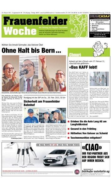 Ohne Halt bis Bern ...