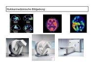 Nuklearmedizinische Bildgebung - Klinik für Epileptologie