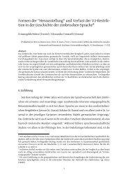 Herausstellung - University of Trento Eprints archive