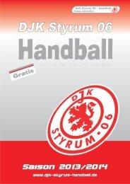 DJK Styrum 06 - Saisonheft 2013/2014