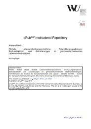 Download (543Kb) - ePub WU - Wirtschaftsuniversität Wien
