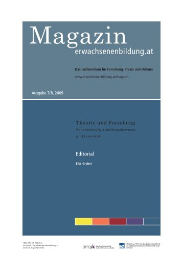 Theorie und Forschung. Facettenreich, traditionsbewusst und ...