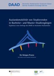 Auslandsmobilität von Studierenden in Bachelor- und ... - eu-DAAD