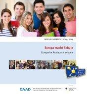 Europa macht Schule - eu-DAAD