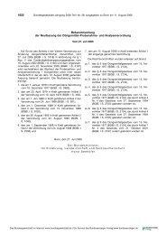 Bundesgesetzblatt Teil 1; Nr. 38 - Faolex