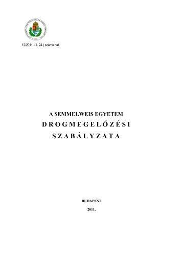 Mellékletek - Semmelweis Egyetem