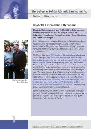 Elisabeth Käsemann - FDCL
