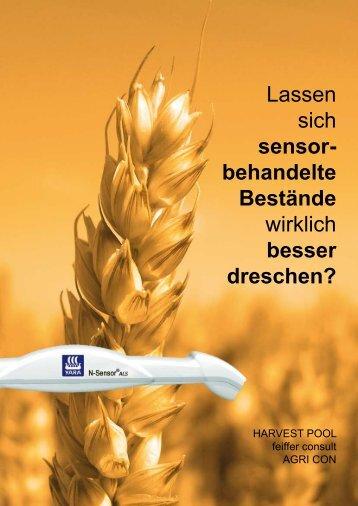 Lassen sich sensor- behandelte Bestände wirklich ... - feiffer-consult