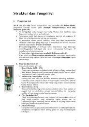Struktur dan Fungsi Sel - Direktori File UPI