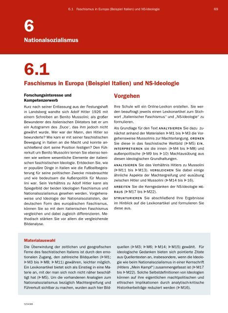 6 1 Faschismus Und Ns Ideologie