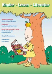 Kinder hören Hörspiele Leselust statt Lesefrust Ein Abenteuer der ...