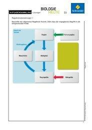 Aufgabensammlung: Lösungen – Genetik