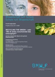 RECYCLING THE GREEN – oder
