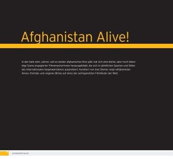 Afghanistan Alive!