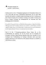 Nachtrag zum Basisprospekt vom 29.08.2008 für IHS vom 11.06.2009