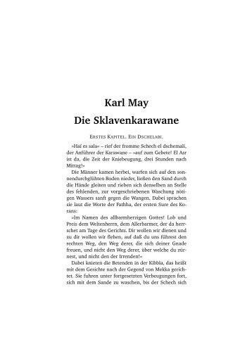 Karl May Die Sklavenkarawane