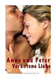 Anne und Peter Verbotene Liebe - Inhalt - fleigejo