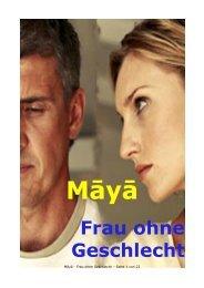 Māyā - Frau ohne Geschlecht - fleigejo
