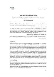 2000 Jahre Christen gegen Juden, Gerhard Czermak - fowid ...