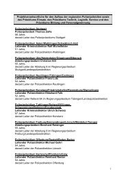 Projektverantwortliche für den Aufbau der ... - CDU-Fraktion