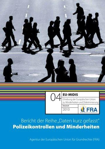 Polizeikontrollen und Minderheiten - European Union Agency for ...