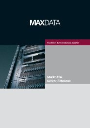 MAXDATA Server-Schränke