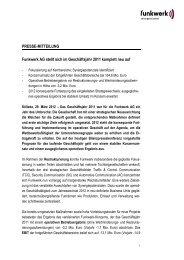 Pressemitteilung - Funkwerk AG stellt sich im Geschäftsjahr 2011 ...