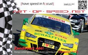 {have speed in focus!} Zandvoort 10 / 2013
