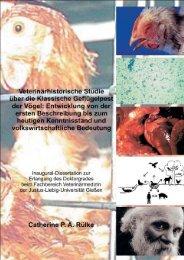 Veterinärhistorische Studie über die Klassische Geflügelpest der ...