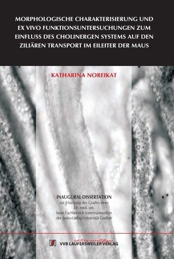 Morphologische Charakterisierung und ex vivo - Gießener ...