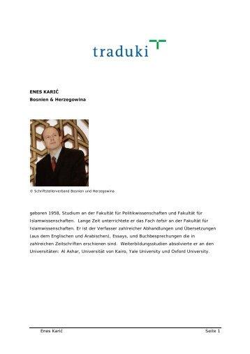 Milen Ruskov: In die Natur geworfen - Traduki
