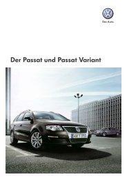Der Passat und Passat Variant - Auto Hindelang