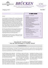 Mai 2002 | Jahrgang 4, Nr. 2 - Germanwatch