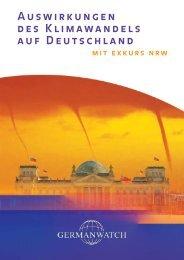 Auswirkungen des Klimawandels auf Deutschland - Germanwatch