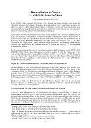 Baumwollanbau im Norden verschärft die Armut im ... - Germanwatch