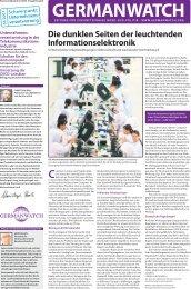 Germanwatch-Zeitung Nr. 3/2007: Unternehmensverantwortung