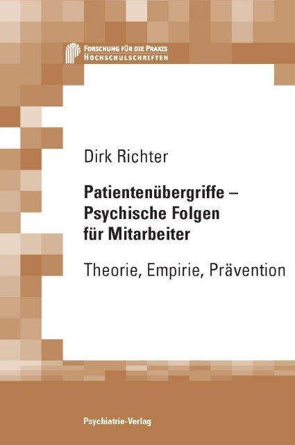 Patientenübergriffe - Psychische Folgen für Mitarbeiter Theorie ...